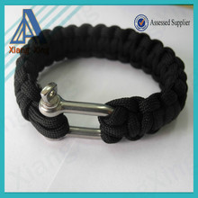 China wholesale cheapest 550 paracord bracelet for USA