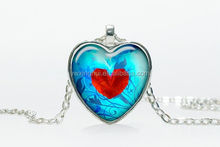 western style heart charms Valentine's day gift to girlfriend