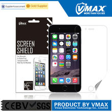 High quality PET material waterproof high clear screen protector for apple iphone 5,5c,5s