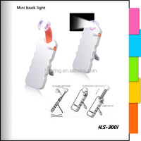 Good quality and price Mini LED Book Light for bookmark