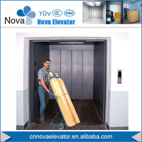 1tons~5tons 0.5m/s Goods Elevator Lift/ Chain Guider Rail Type Goods Lifts