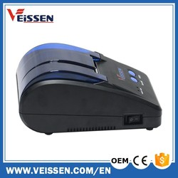 POS Manufacturer Black 58mm Printer with Cutter Thermal Printer