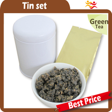 High quality wholesale black tea tins canister / round tea case