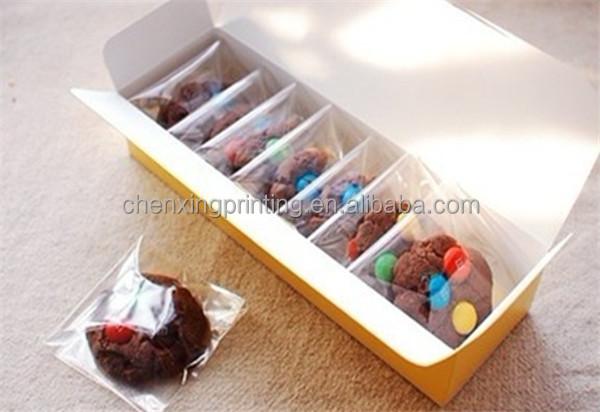 transparent macaron biscuits bo tes bonbons bo te d 39 emballage cadeau avec fen tre en plastique. Black Bedroom Furniture Sets. Home Design Ideas