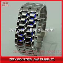 R1048 Welcome OEM&ODM design your own watch, alloy strap digital led design your own watch