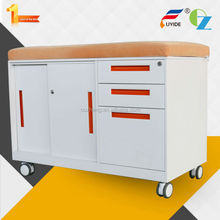 up-market various Color Sliding door school furniture desk cabinet with three drawers