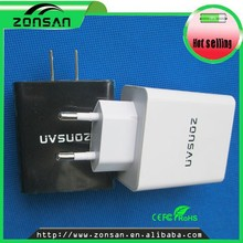 CE,RoHS,FCC Approvedportable multiple usb port wall charger , ODM/OEM quick deliver power sockets with US EU plug