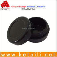 China wholesale silicone jars wax container