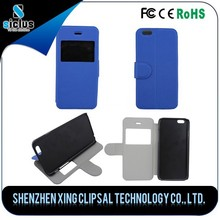 Leather Cell Phone Cover Case for apple iPhone6 mobile phone case with OEM&ODM accept Paypal