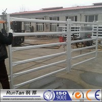 wholesale galvanized used horse panel / portable horse stall / flexible horse fence