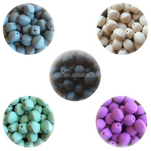 Silicone beads wholesale,handmade teething jewelry, food grade silicone beads