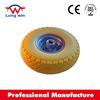 10inch pu foam rubber wheel