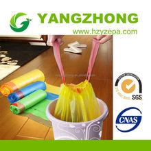 Hiway china supplier plastic drawstring garbage trash bags