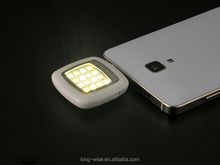 Newest Universal 3.5mm Mini LED Camera Flash Fill-In Light for Mobile Cell Phone Mobile Phone Micro-usb Led Flash Light
