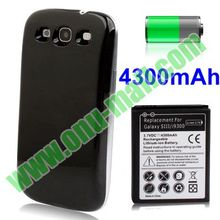 4300mAh Replacement Lithium-ion Battery Case for Samsung Galaxy S3