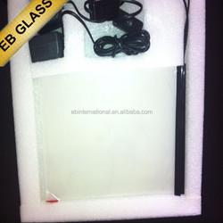 self adhesive covering transparent film,smart tint film power off opaque power on transparent EB GLASS BRAND