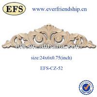 antique solid wood decorative new year furniture appliques(EFS-CZ-51)