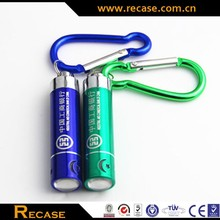 Promotional LED Keychain Mini Flashlight Key Ring Mini Torch 2015 new promotional item led light with keychain