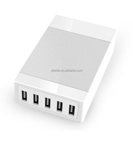Portable USB Charger,60 W 6 Ports Smart Charger Fast Charger for iPad&iPhone&Tablet&Smartphone&Camera