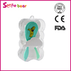 Yiwu smile bear baby green comb hair brush and comb set