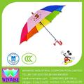 niño ws353113 de marca paraguas de imágenes de dibujos animados para los niños paraguas oem