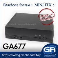 GA677 - ODM custom itx case computer for vehicle pc