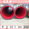 Flange connection inside PE plastic coated hot water transfer steel pipe