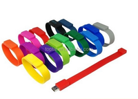 China supplier bracelet shaped pen drive 4GB