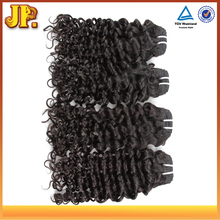 JP Hair Large Stock 8A Grade 100% Pure Virgin Peruvian Jerry Curl Human Hair