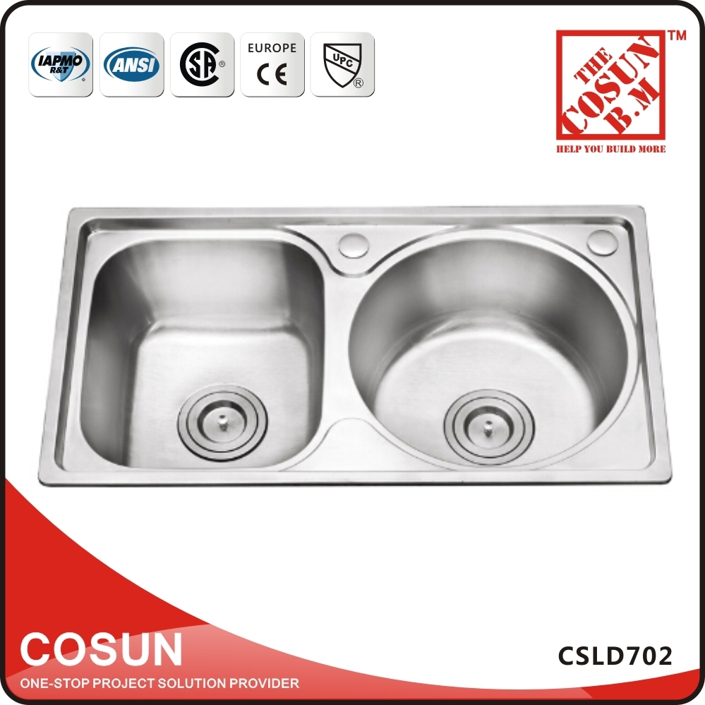 Polish design unique shape small size kitchen sink buy for Odd shaped kitchen sinks
