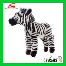 Zebra stuffed plush animal toy for kids promotional gift