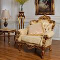 Classic muebles, Antique sofa muebles, Estilo europeo salón / sala de estar room1-seat tela de resina salón sofá