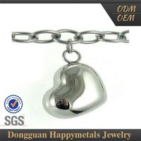 Best Quality Sgs Stainless Steel Football Charms