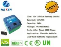 Golf Trolley; EV; Lead-acid Battery Replacement; Lifepo4 / Li-ion Battery; 12v24Ah