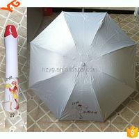 2015 new product perfume fashion rose cap bottle gift umbrella