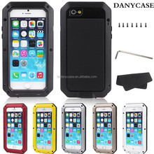 Hot Selling Mobile Phone Cover For Iphone 6 With Aluminum, Waterproof Metal Phone Case for Custom