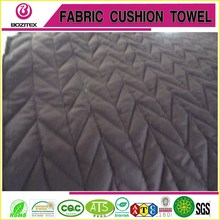 China pongee fabric quilted cotton fabric use in coats.