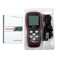 100% Original XTOOL VAG401 OBD2 Diagnostic Scanner For VW/Audi/Skoda/Seat VAG 401 OBDII Code Reader Update Online