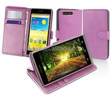 Slim Flip Stand Wallet Leather Case Cover For Huawei EE Kestrel 4G
