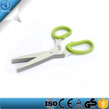 best selling kitchen hand tools,5 blades herb scissors,onion scissors