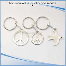 Portable Promotional Gift metal key chain ring