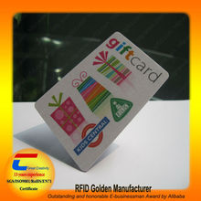 CMYK full color printed smart cards with Heidelberg printing machine (Shenzhen 13 years manufacturer)