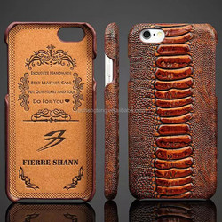 Full Grain Leather Case for iPhone 6, High Quality Genuine Cow Leather Cover for iPhone 6