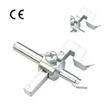 Vacuum brazed diamond core drills with wax filling