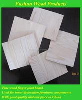 finger joint primed wood pine trim board