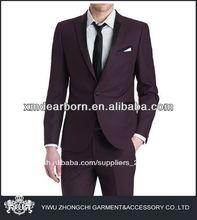 italiano de la moda de trajes para hombre