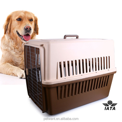 IATA approved 4 sides ventilative flight pet carriers