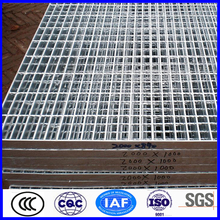 high quality galvanized steel grating standard size