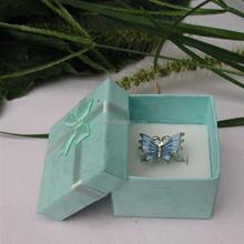 small beautiful colorful paper jewel box