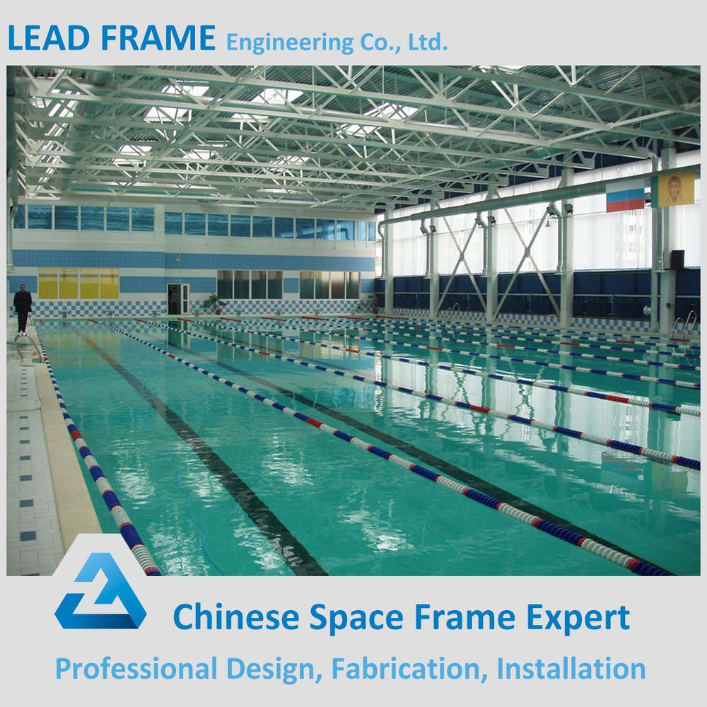 Light Gauge Steel Structure Swimming Pool Roof Buy Swimming Pool Roof Steel Frame Structure